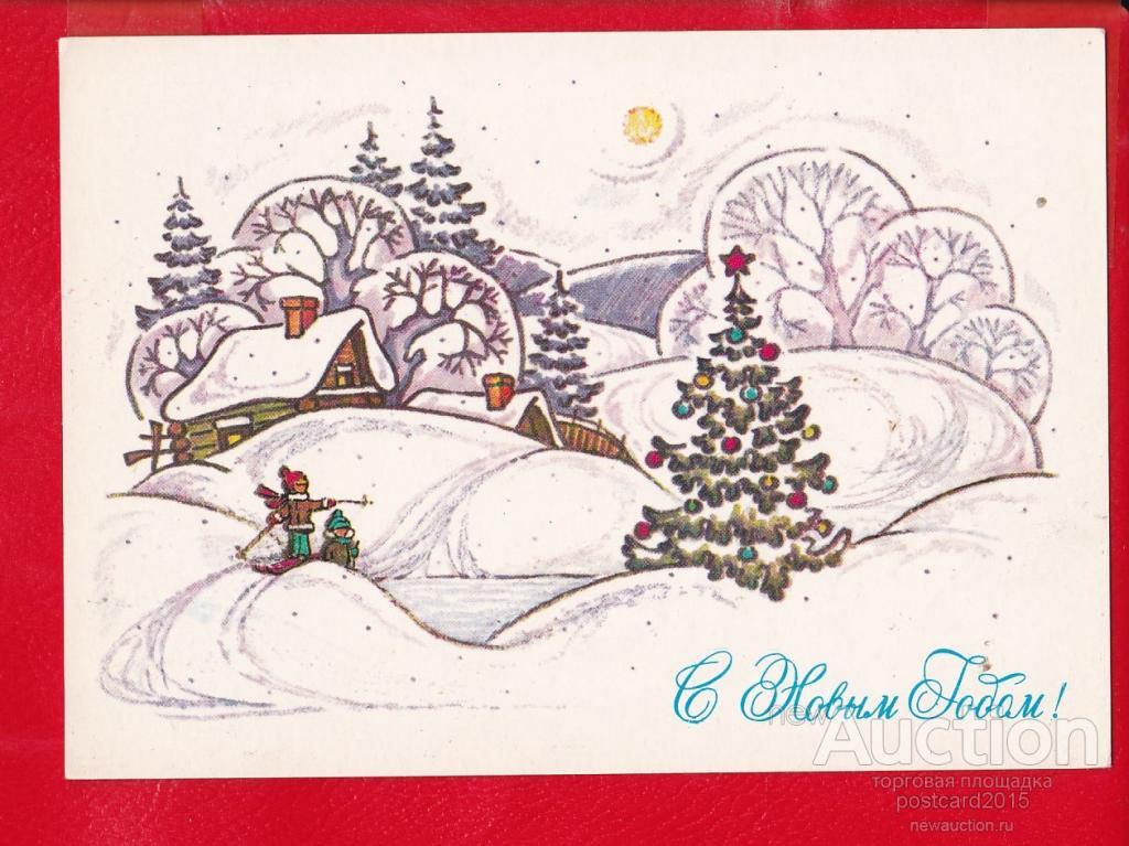 Рисунки новогодние открытки своими 493