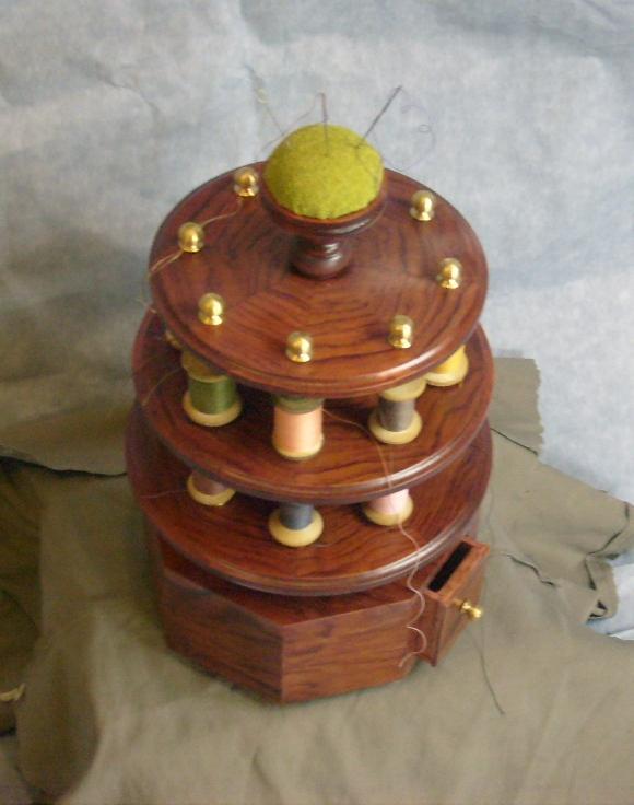 Игольница - катушница № 2