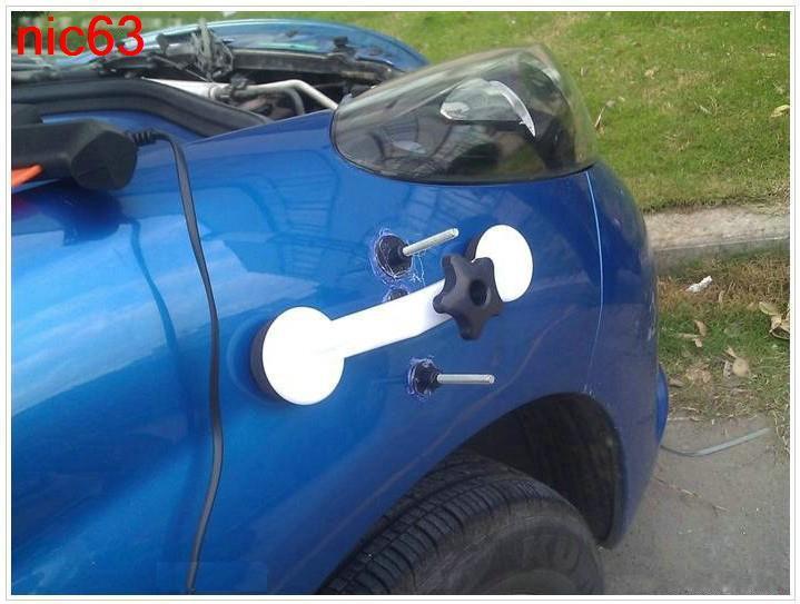 Приспособления для вытягивания вмятин кузова автомобилей своими руками 37
