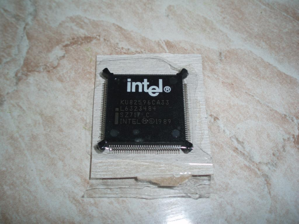 intel KU82596CA-33 IC LAN COPROC 5V 33MHZ 132-QFP LAN Controller, Single Port