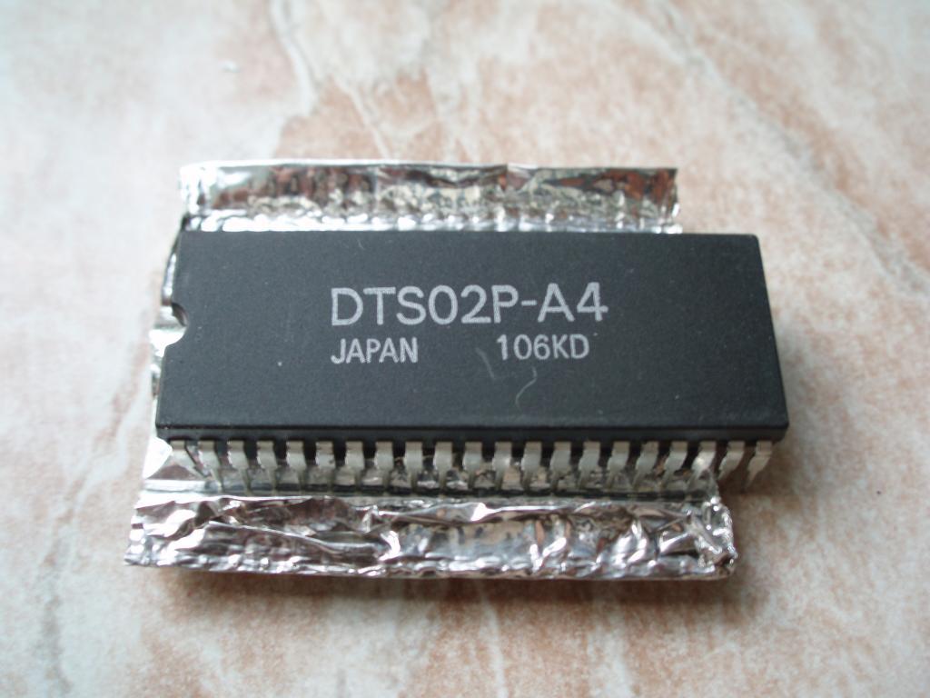 DAEWOO DTS02P-A4 (SDIP-42) VCR сеpвопpоцессоp DAEWOO DVR-3327