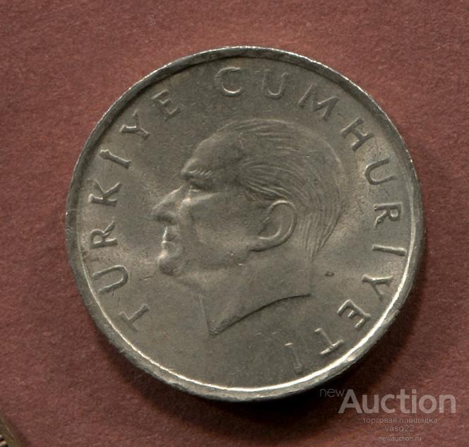 Турция 10 бин лира 1996 год
