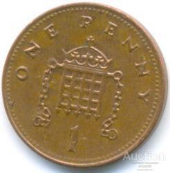 Великобритания 1 пенни 2006 96.87.05