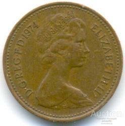 Великобритания 1 пенни 1974 78.87.05