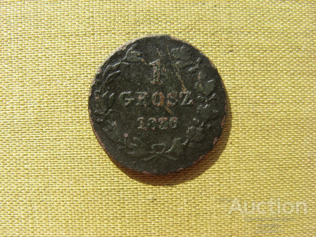 1 грош 1836 Нечастый