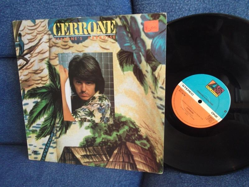 Cerrone Cerrone's Paradise UK Atlantic 1977г  LP