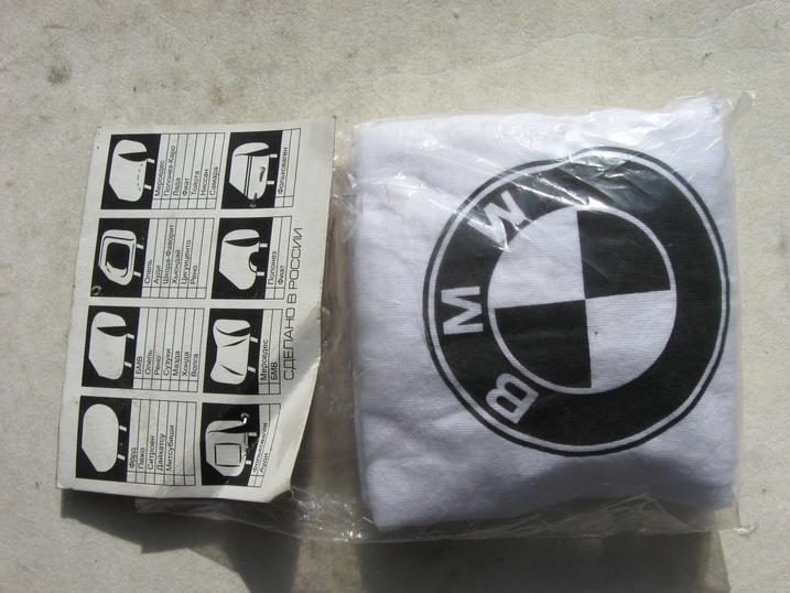 Чехлы подголовников BMW 2шт