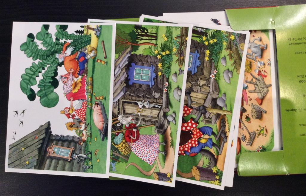 Набор открыток русские сказки