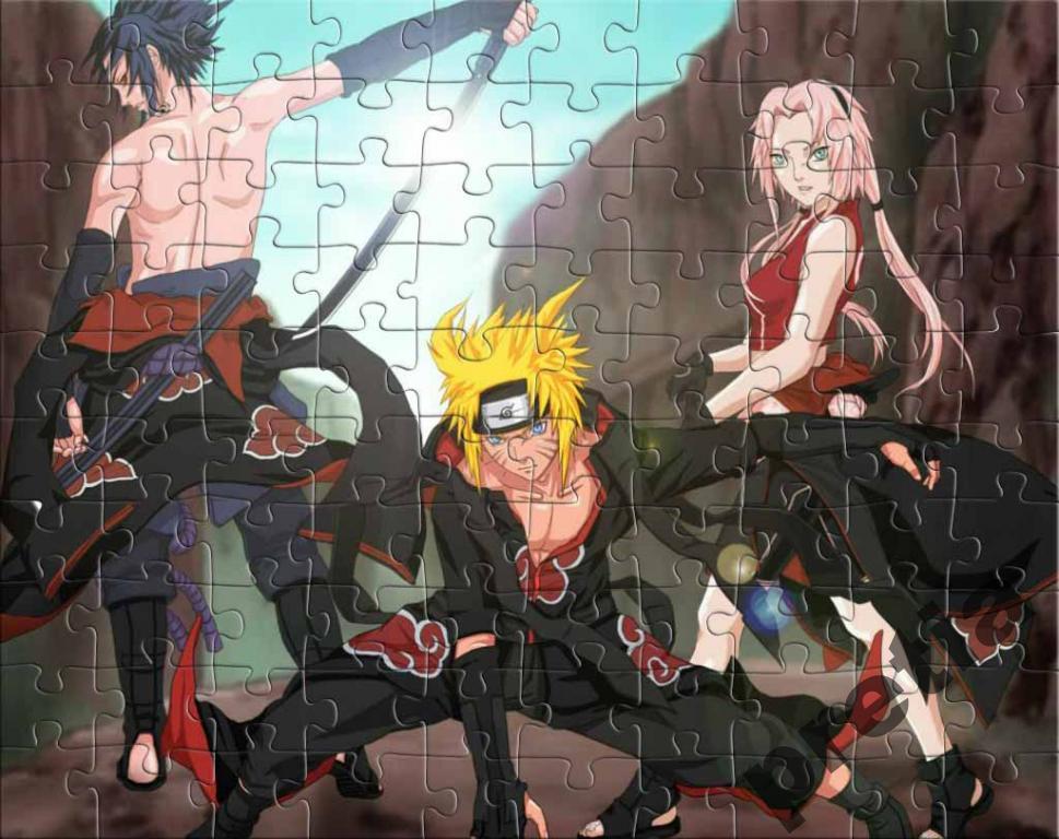Аниме Пазл Naruto 07
