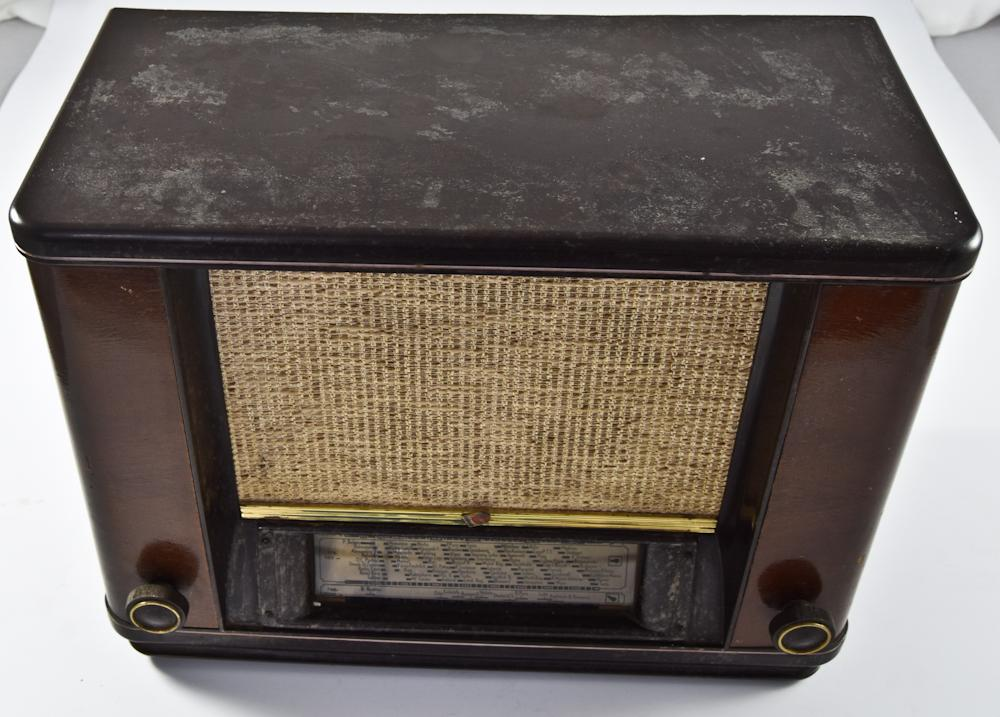 Ламповый радиоприёмник «Philips», модель 655U. Европа. Арт. 9ВТ1335