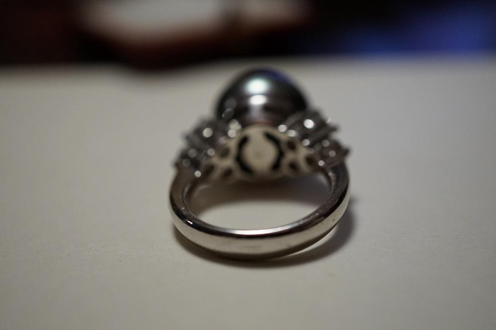 Кольцо Маджорика, Испания, 90-е г Жемчуг Серебро 925 Качество!