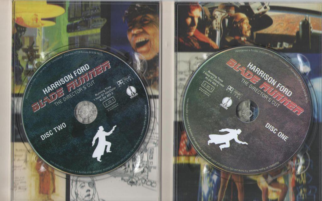Бегущий по лезвию бритвы (Х.Форд,реж.Р.Скот ) 2 DVD