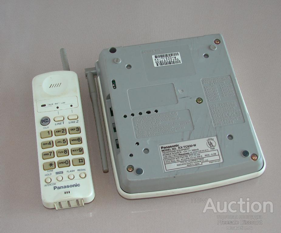 Panasonic KX-TC930-W радиотелефон 900 MHz Т.