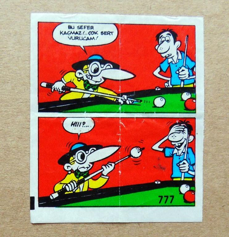 ВКЛАДЫШ комиксы Tipi Tip 1шт cS (301)