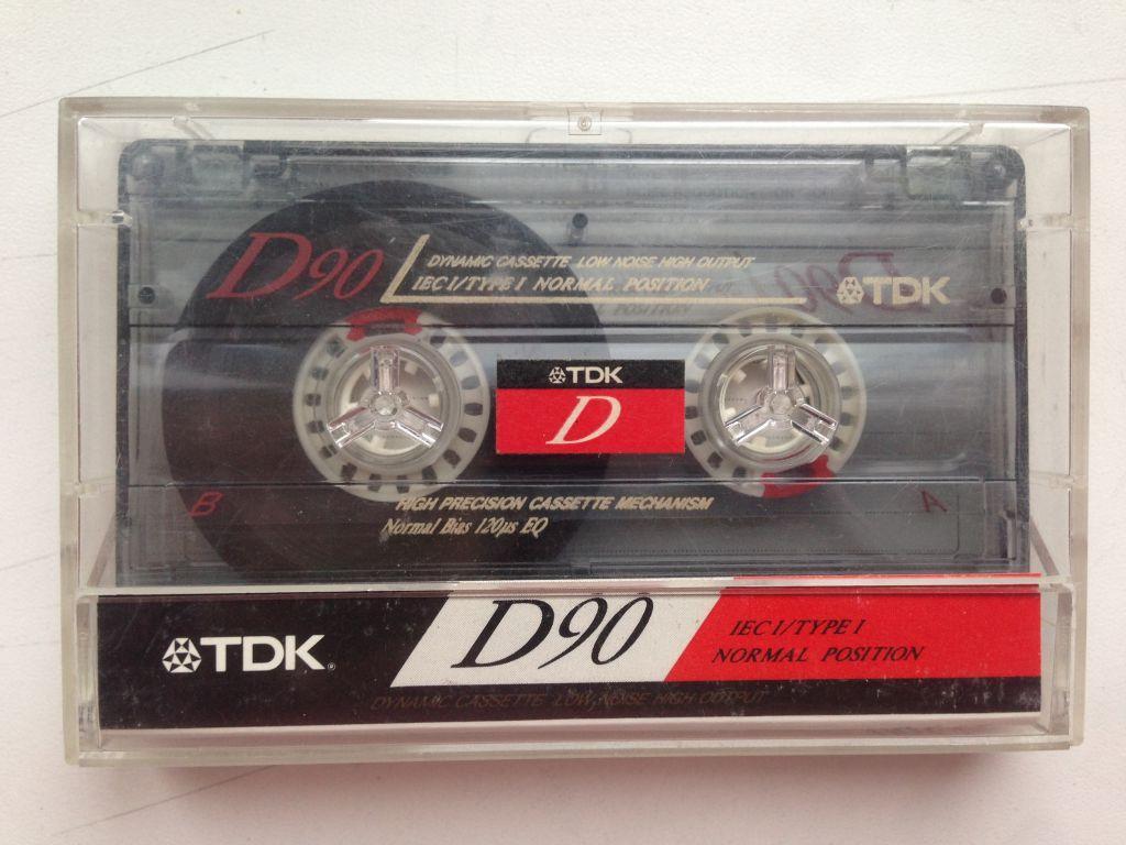 Кассета TDK  D 90