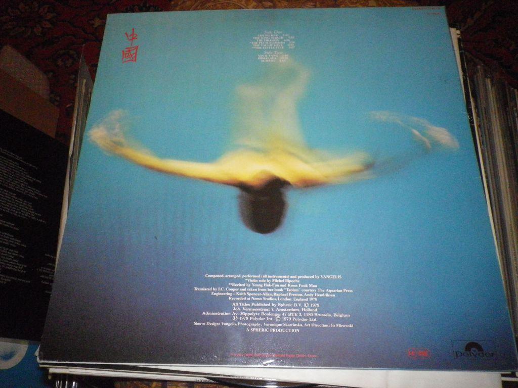 Vangelis /China/1979/GEMA-Polydor