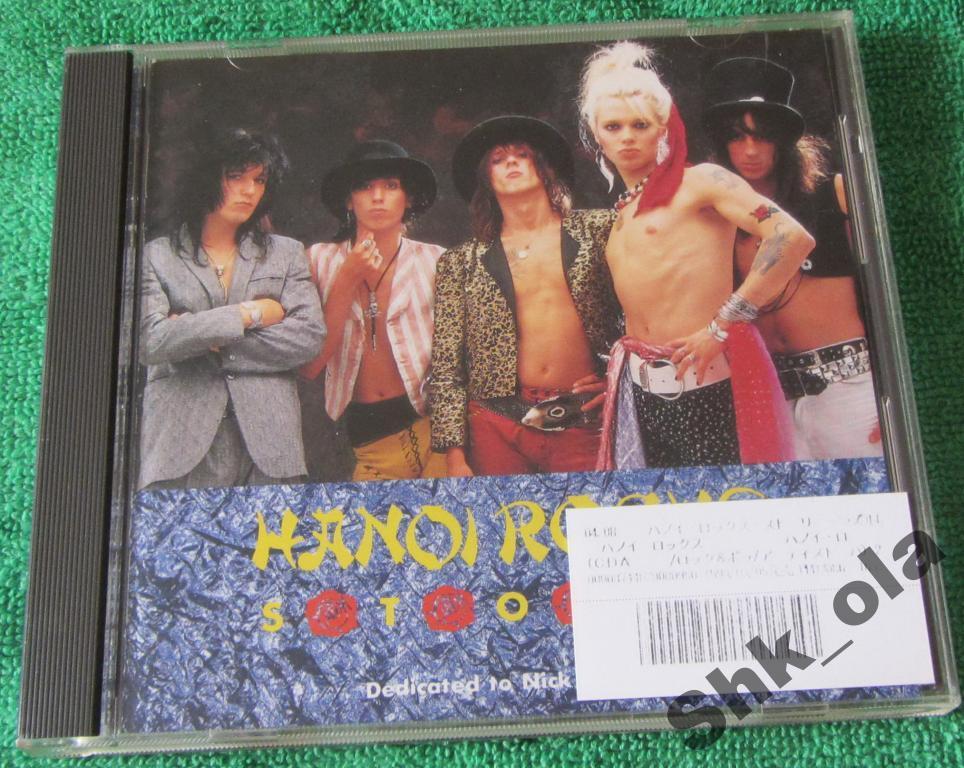 Hanoi Rocks - Story (Japan 1990) Hard Rock, Glam