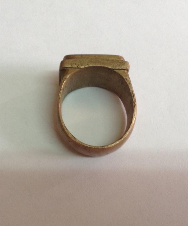 Перстень из латуни своими руками 6