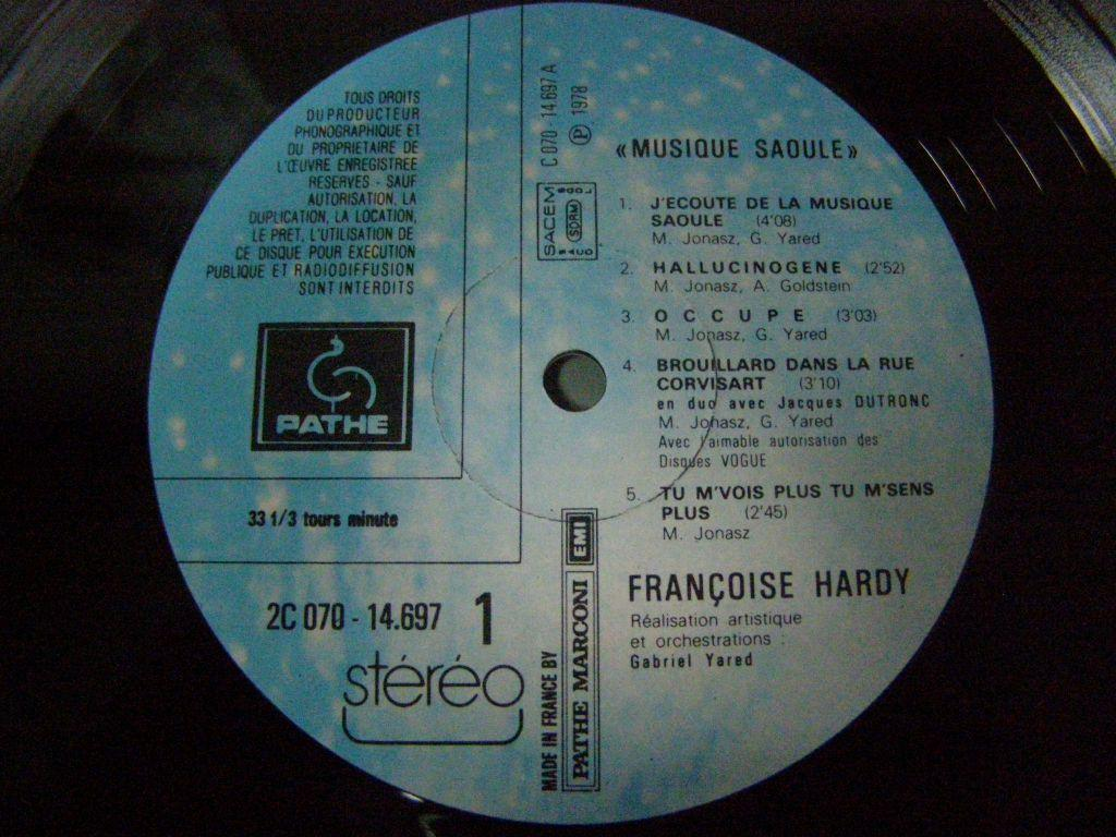 Francoise Hardy - Musique Saoule
