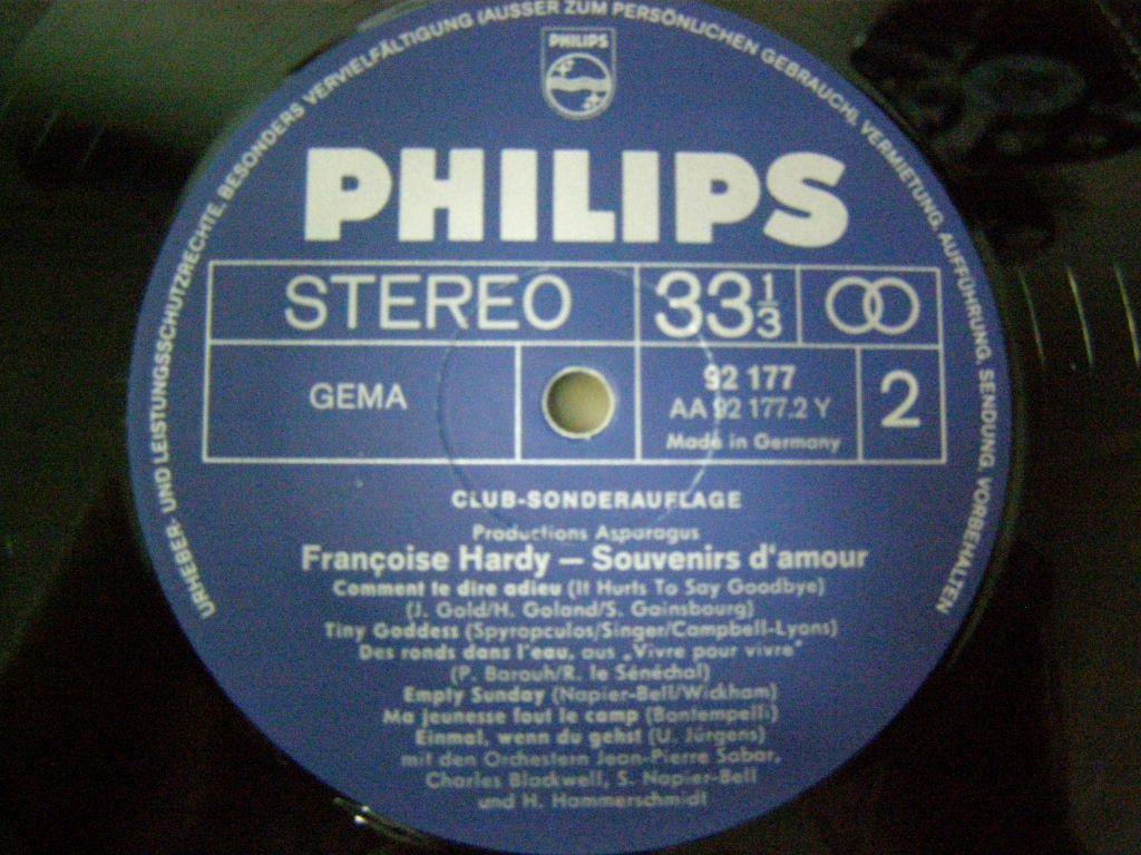 Francoise Hardy - Souvenirs damour