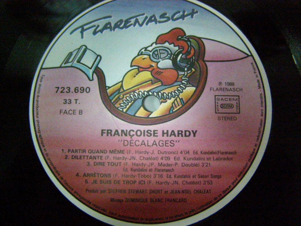 Francoise Hardy - Decalages