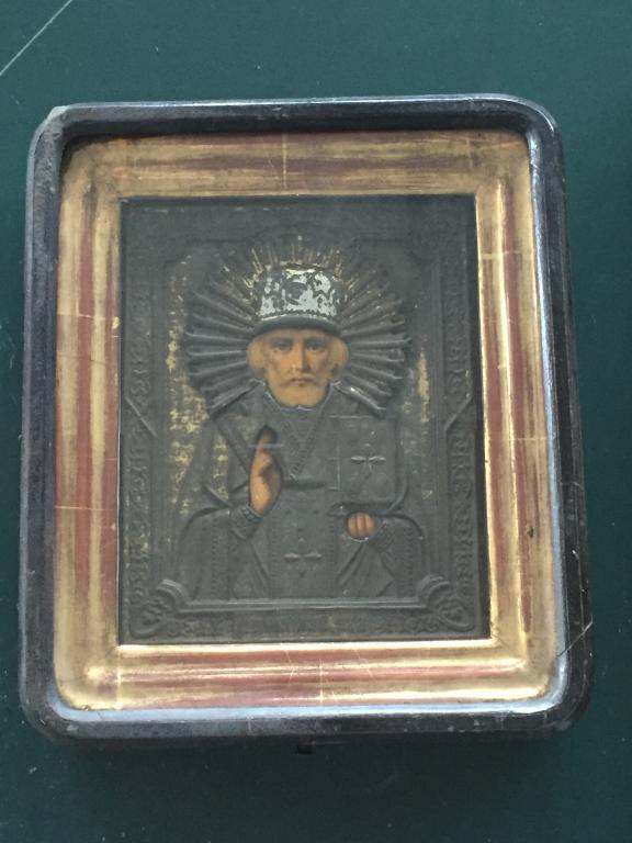 икона157 Икона Св Николай+Киот