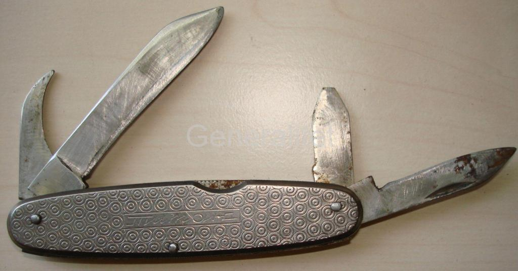 Нож перочинный СССР Титан Ворсма 4 предмета