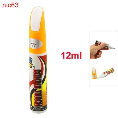 Автомобильный карандаш для удаления сколов и закрашивания царапин Белый