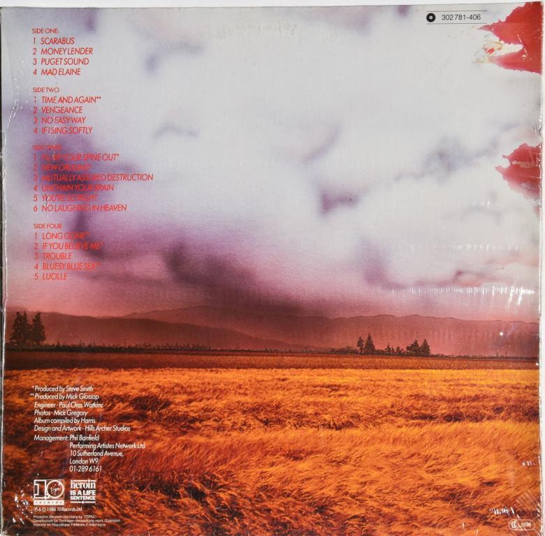 "Ian Gillan (Deep Purple) ""What I Did On My Vacation"" 1986  2Lp"