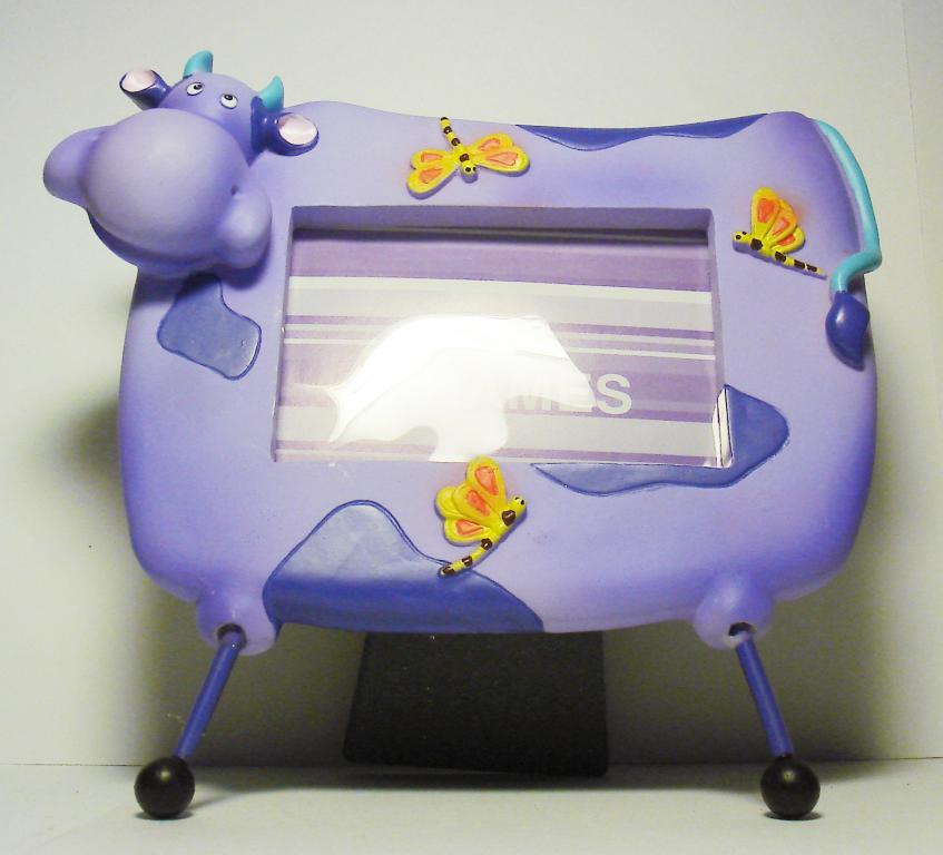 Детская рамка для фото Корова