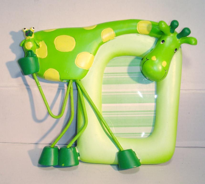 Детская рамка для фото Жираф