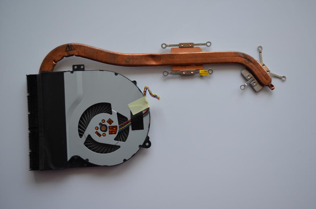 Система охлаждения ноутбука ASUS X550СC