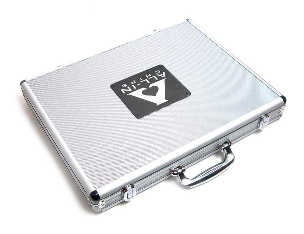 Покерные фишки 1000 шт в алюминиевом кейсе , Лучшая цена!