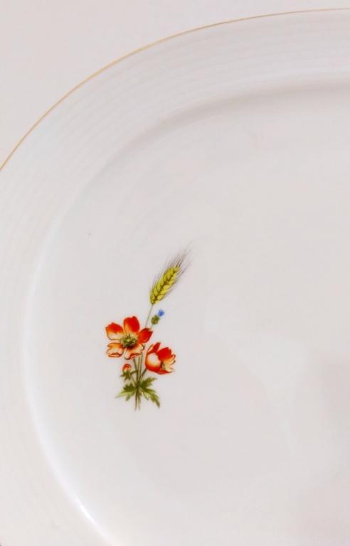 Овальное блюдо, «Кольдиц»