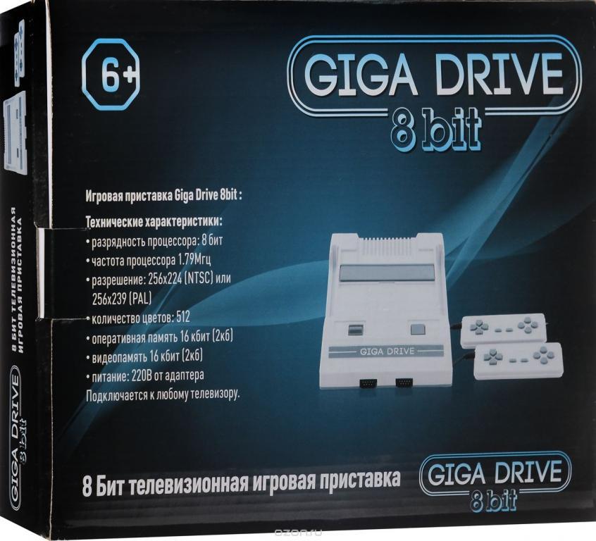 Giga drive(аналог денди,новая)