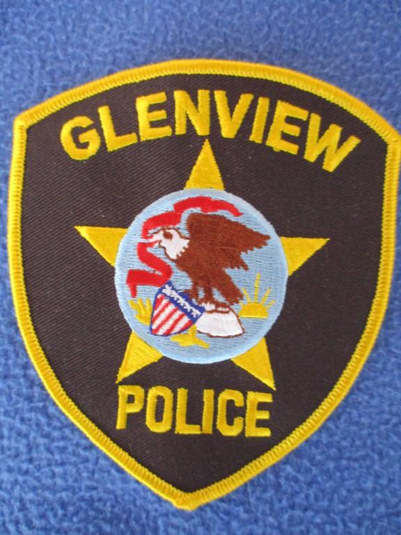 Шеврон, Glenview Police, полиция, США #1