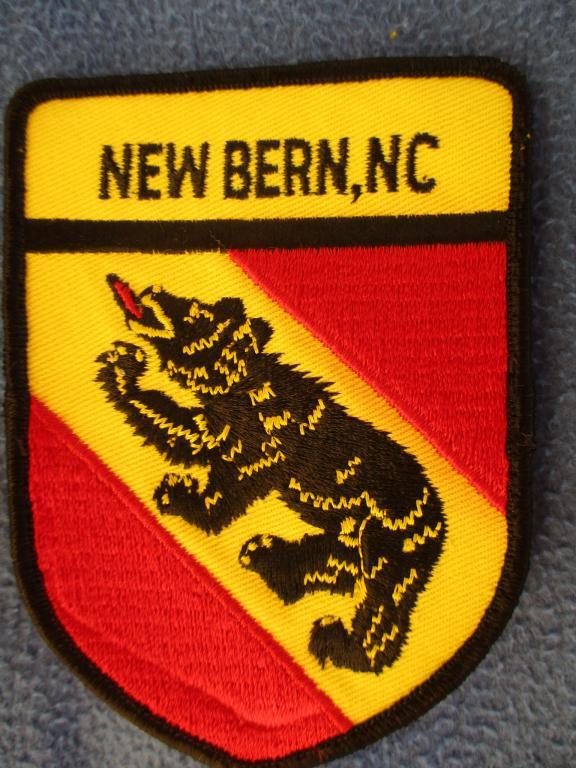 Шеврон, New Bern Police, полиция, США #2