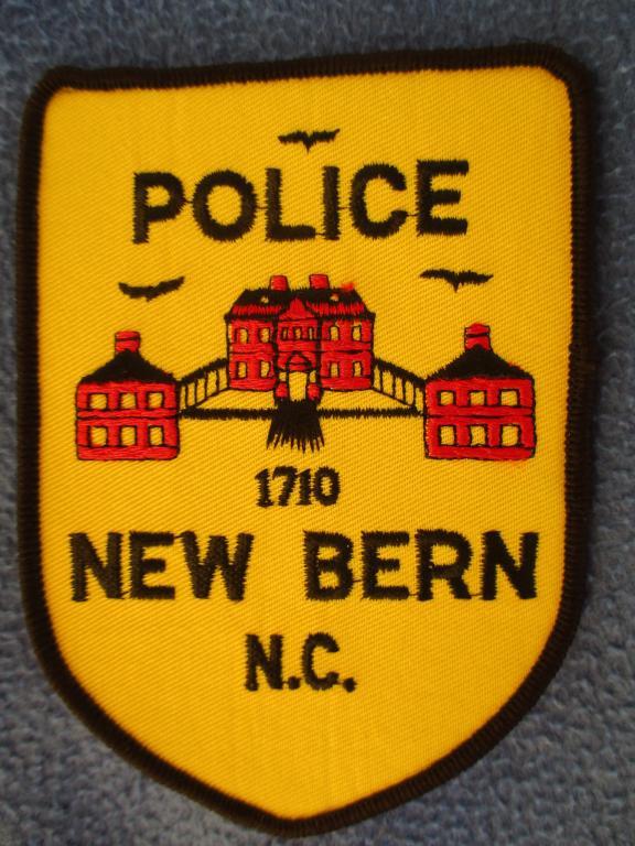 Шеврон, New Bern Police, полиция, США #1
