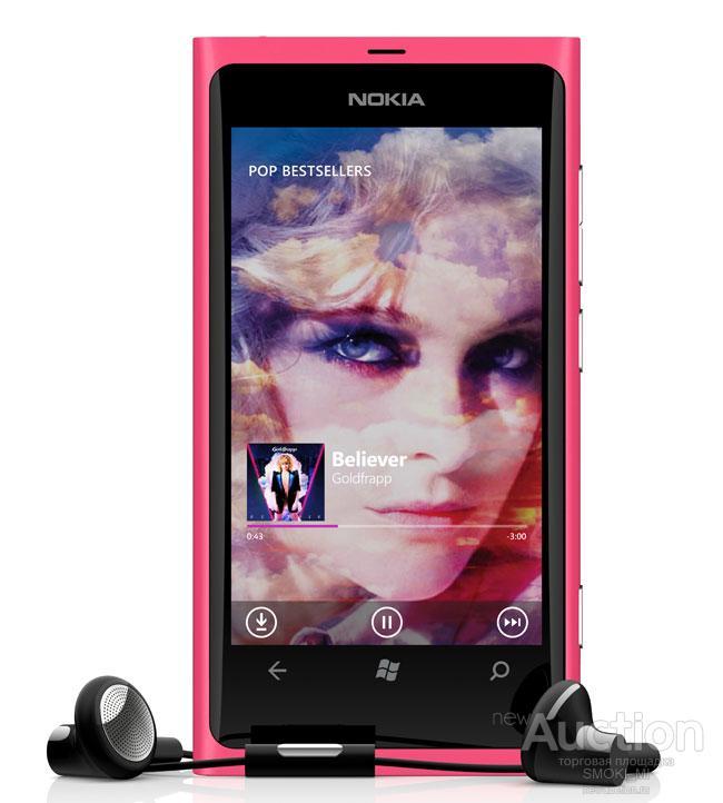 Nokia Lumia 800, WIFI, GPS. ОРИГИНАЛ.