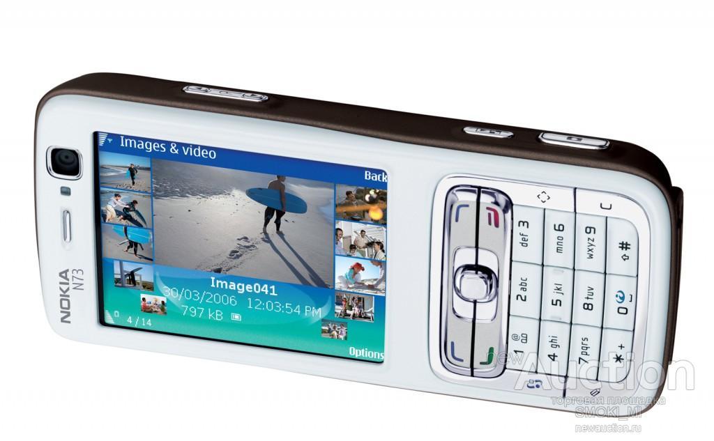 Nokia N73.Bluetooth 3.15MP FM MP3.  ОРИГИНАЛ.