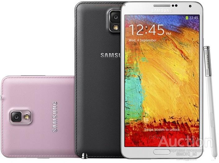 Samsung Galaxy Note 3. 3 ГБ + 16/32ГБ, 13MP. ОРИГИНАЛ.