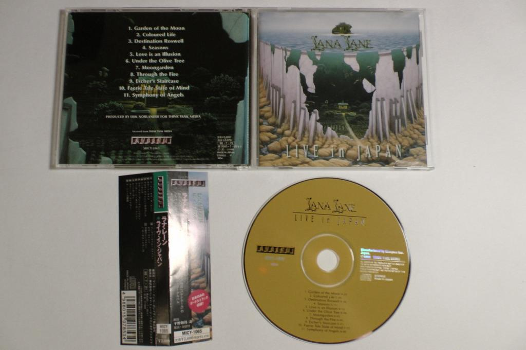 Lana Lane Live In Japan cd New Factory t 1998 MICY-1065
