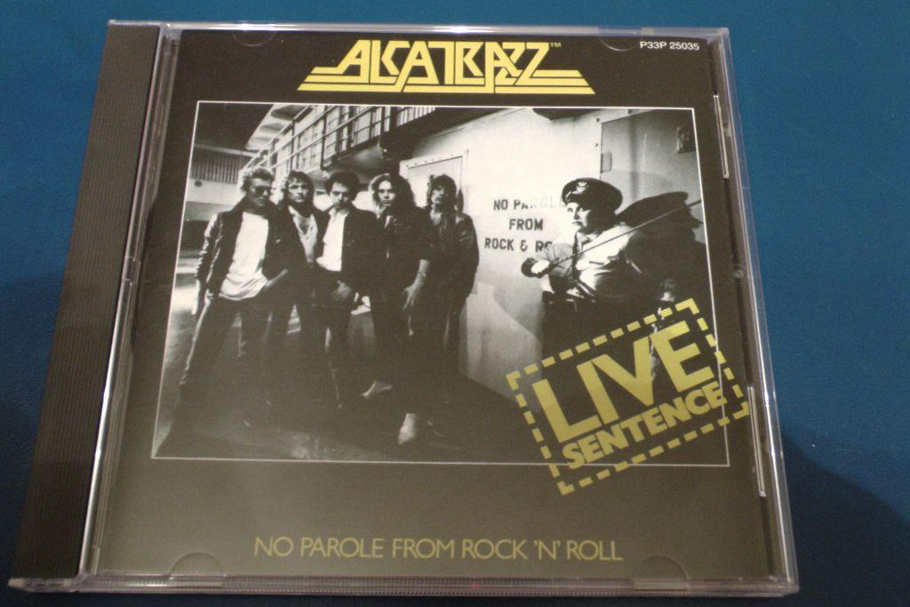 ALCATRAZZ / LIVE SENTENCE JAPAN CD P33P-25035