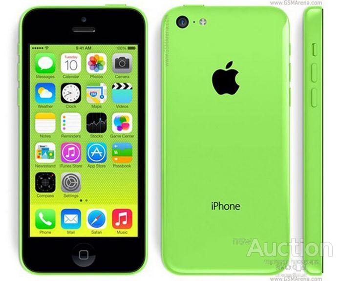 Apple iPhone 5C. 8/16/32Gb. IOS, WIFI GPS. ОРИГИНАЛ.