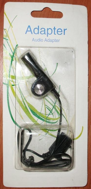 Аудио адаптер для мобильного телефона