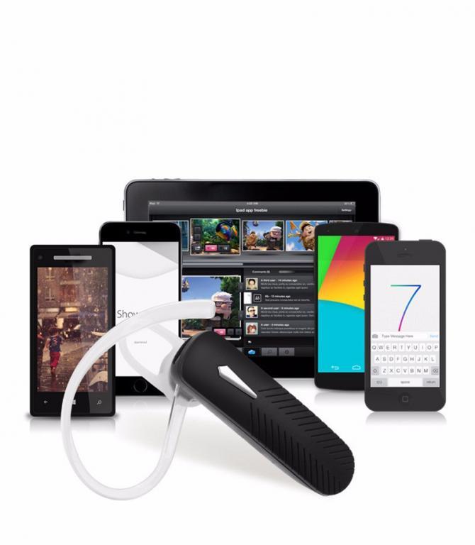Bluetooth Гарнитура V4.0 Нового Поколения.