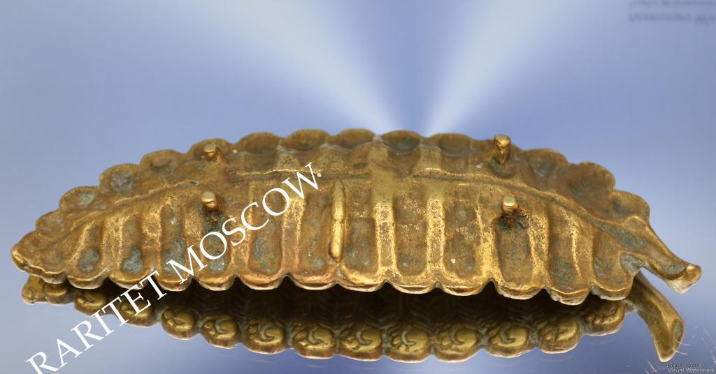 Подставка ваза ключница визитница бронза Франция 4