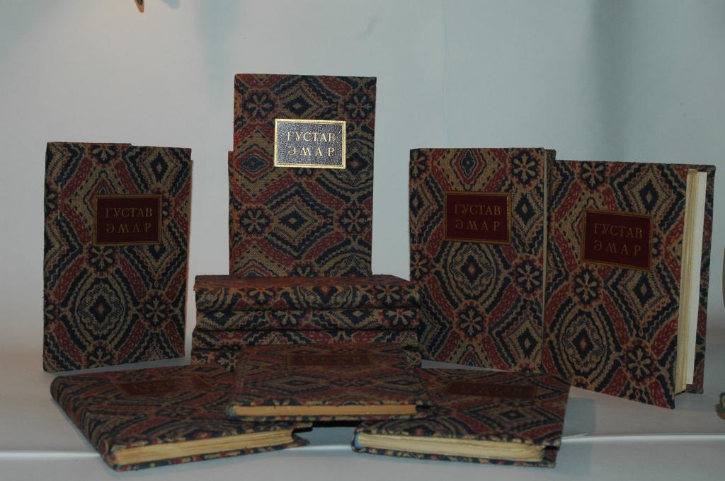 Густав Эмар  [Собрание романов], типография Сытина, 1899
