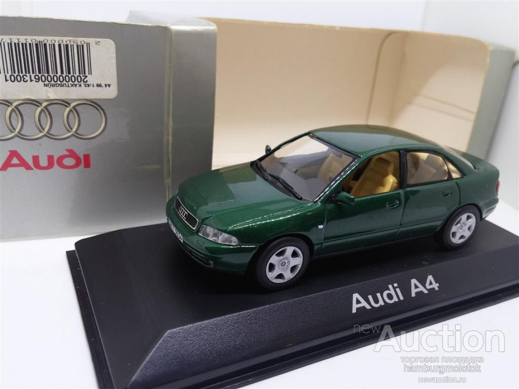 050 Minichamps 143 Audi A4 B5 Typ 8d 1994 2001