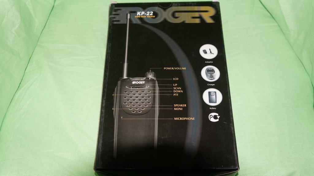 Рация (радиостанция) Roger KP-22 LPD/PMR новая